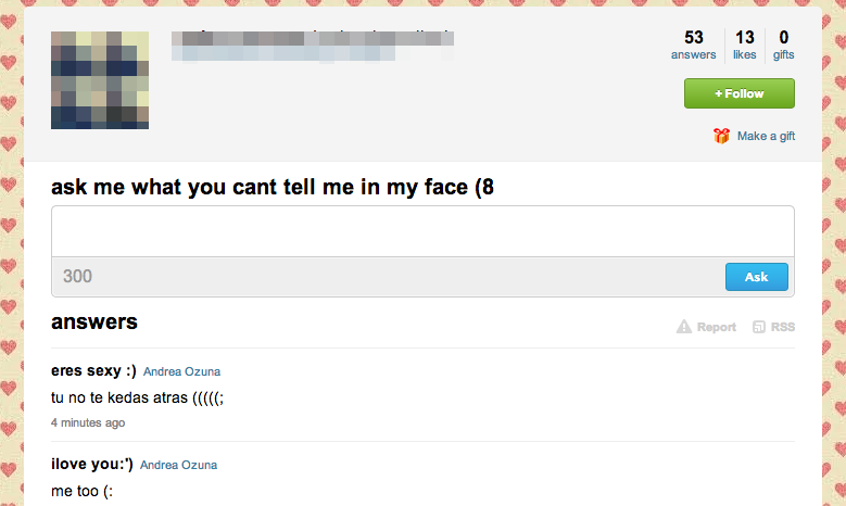 How do you know who follows you on ask fm